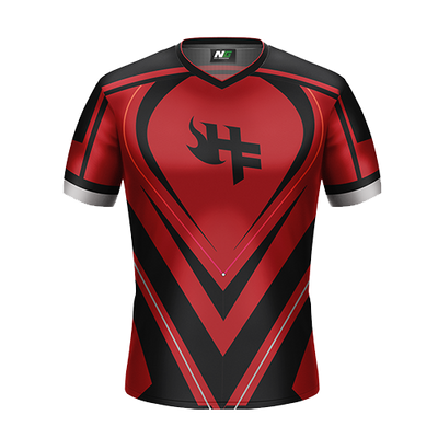 Hellfire Esports Crimson Gaming Jersey - Next Generation Clothing