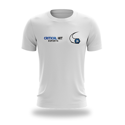 Critical Hit Esports Regular Tee WHITE