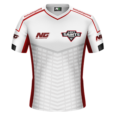 Lost Saints Gaming Whiteout Jersey - Next Generation Clothing