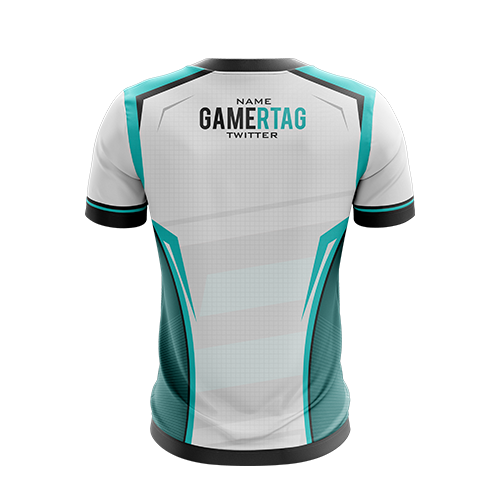 Enemy Four White Gaming Jersey - Next Generation Clothing