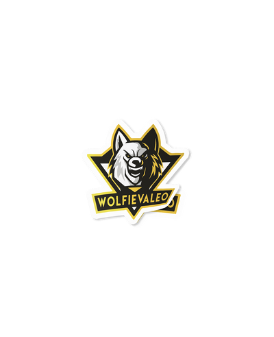 Wolfie Logo Sticker