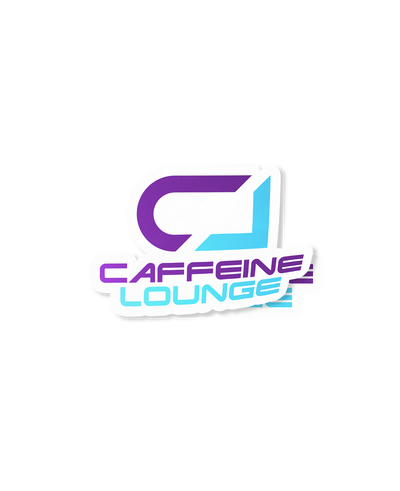 Caffeine Lounge Sticker