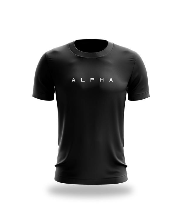 Alpha Spaced Tee