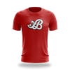 Brogan Red Tee