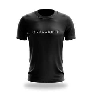 Avalanche Black Tee