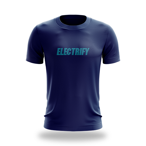Electrify Navy Tee
