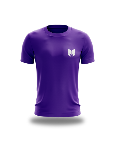 Mythos Logo Tee - Purple