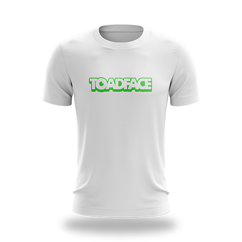 Toadface White Tee