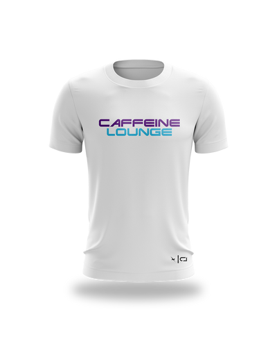 Caffeine Lounge Text tee