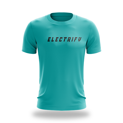Electrify Teal Tee