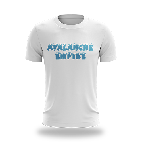 Avalanche White Tee