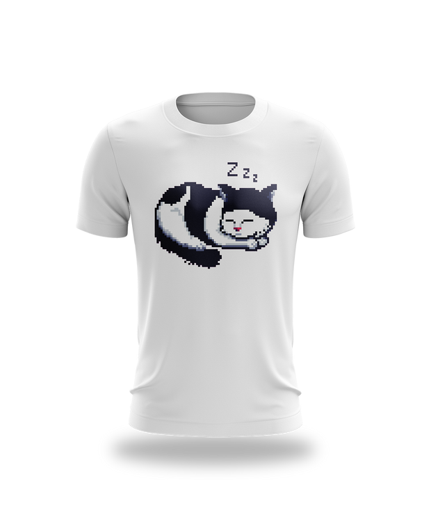 Freya Sleepy Cat Tee