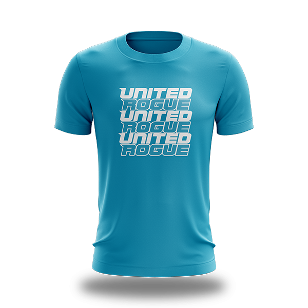 United Rogue Stacked Tee