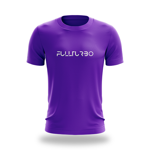 FullTurbo Purple Tee