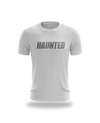 Haunted Text Tee - White