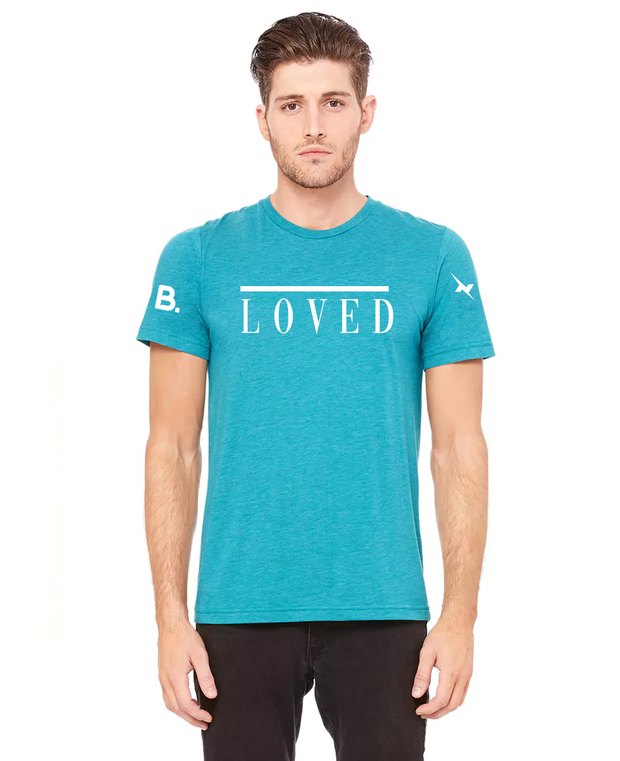 Loved Teal Tee
