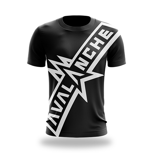AVL Black Tee - Dri-Fit