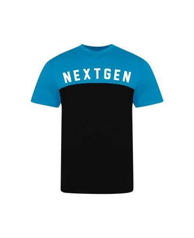 NextGen Two Tone Tee - Blue/Black