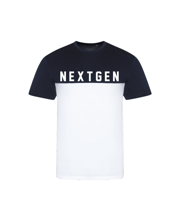 NextGen Two Tone Tee - Navy/White