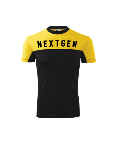 NextGen Two Tone Tee - Yellow/Black