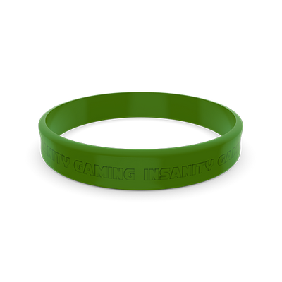 Insanity Wristband - Green