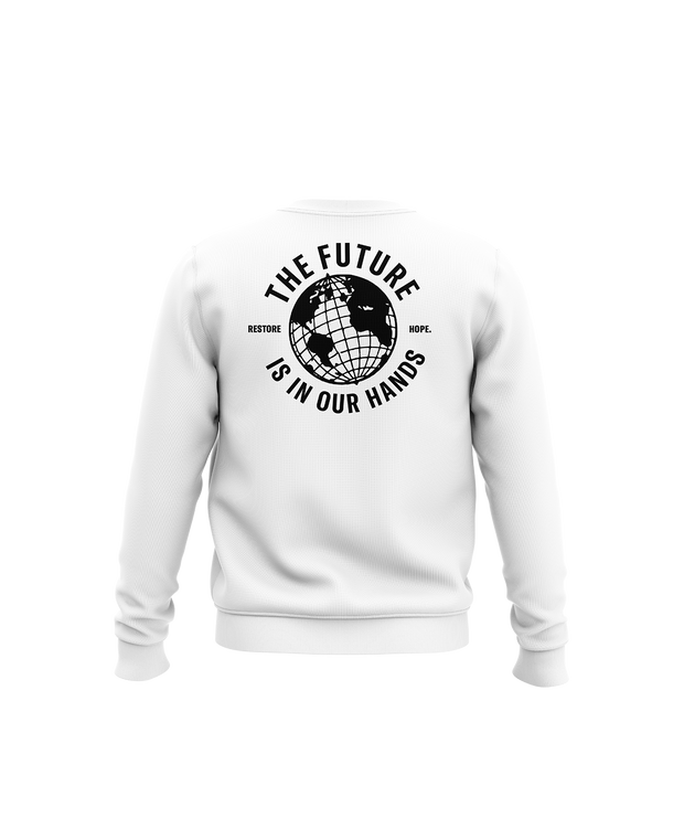The Future is in Our Hands Crewneck