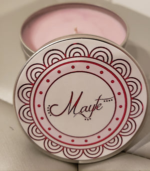 The Mayte Candle - Regular Size - 8 oz tin