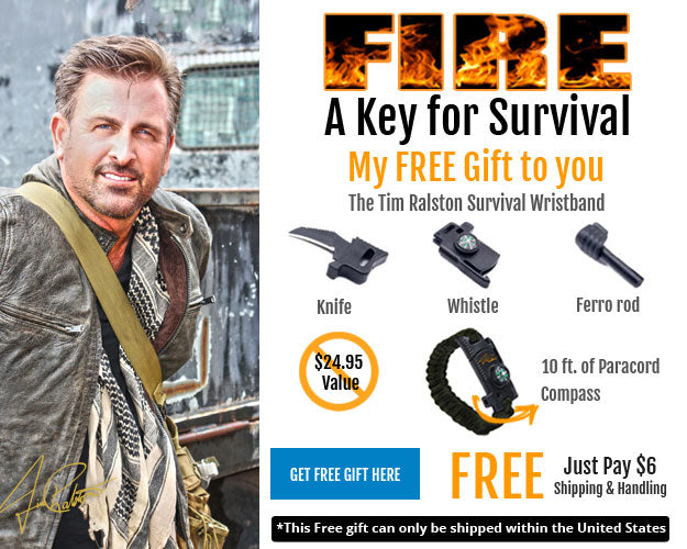 Tim Ralston Survival Wrist Band