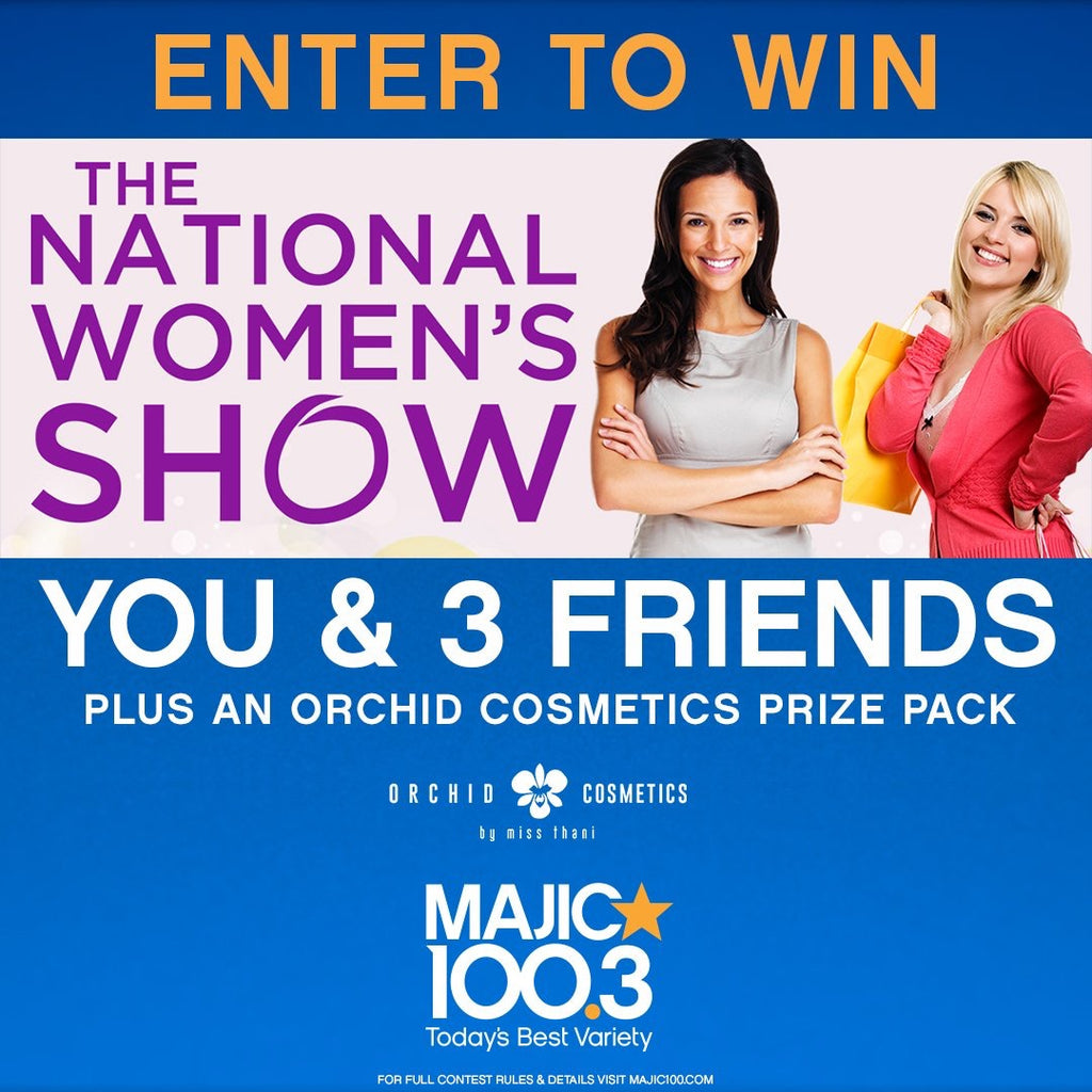 ENTER TO WIN National Women's Show Prize Pack