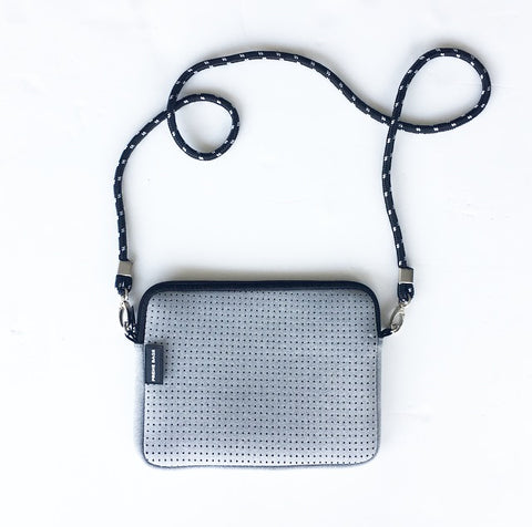 The CrossBody Bag - Light Grey Marle