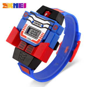 SKMEI KIDS ROBO SERIES-1095 BLU - Mashroo