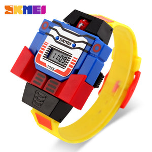SKMEI KIDS ROBO SERIES-1095 YEL - Mashroo