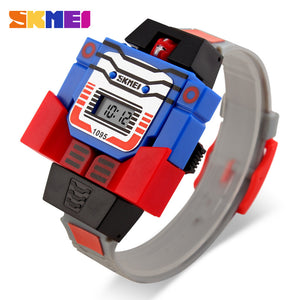 SKMEI KIDS ROBO SERIES-1095 GRY - Mashroo