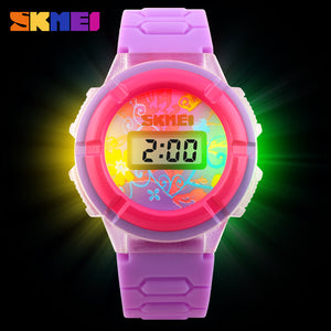 SKMEI KIDS WATCH-1097 PRPL - Mashroo
