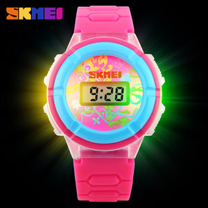 SKMEI KIDS WATCH-1097 PNK - Mashroo