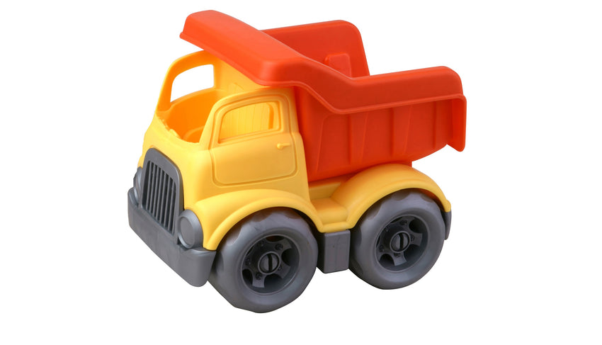 Eco Friendly Dumper Bricks Vehicle - 9 Pieces