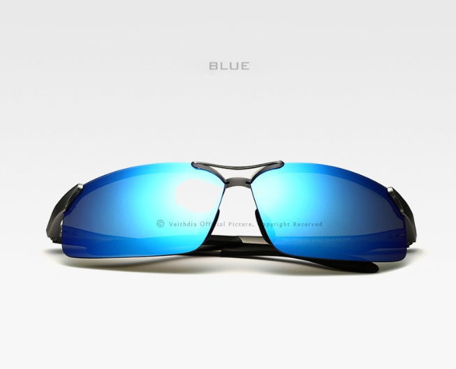 VEITHDIA POLARISED SUNGLASSES-6502-BLU