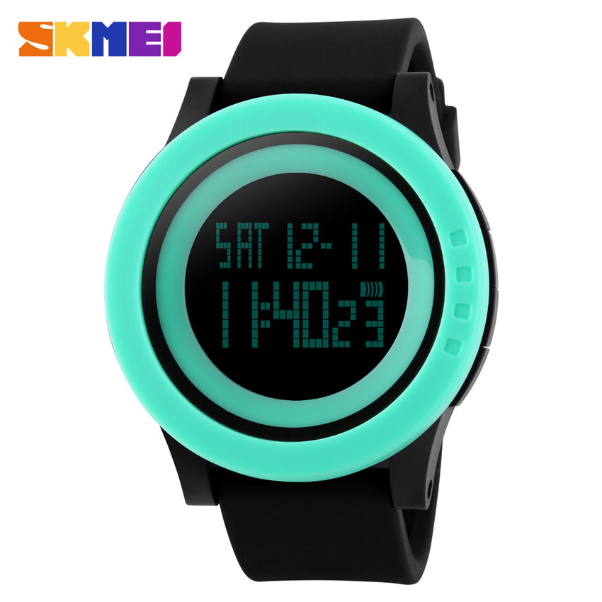SKMEI SPORTS SWIMMING WATCH 1142-BLKGRN
