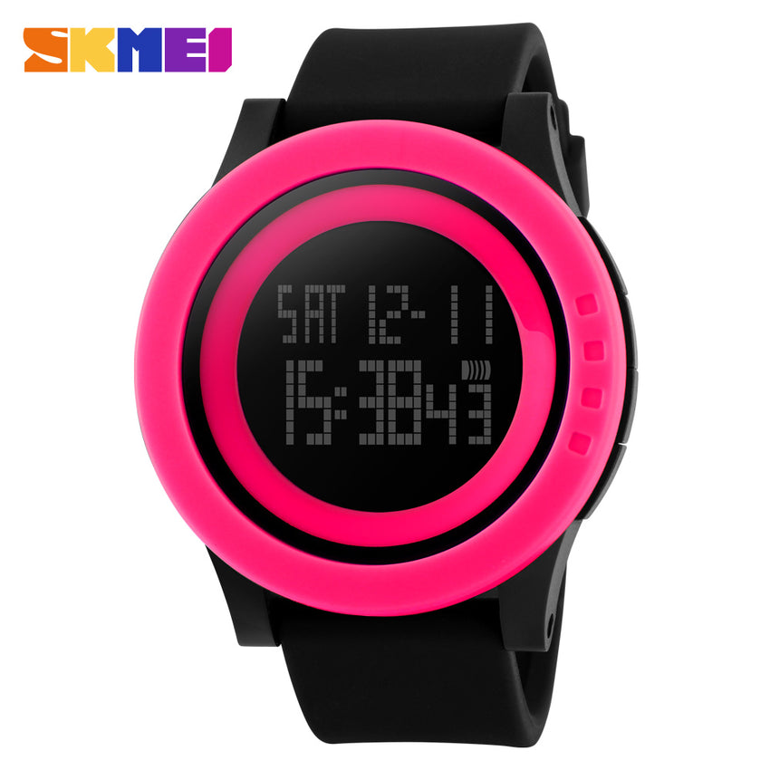 SKMEI SPORTS SWIMMING WATCH 1142-BLKPNK
