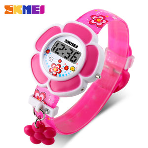 SKMEI KIDS WATCH FLOWER SERIES-1144-PNK - Mashroo