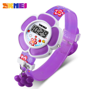 SKMEI KIDS WATCH FLOWER SERIES-1144-PRPL - Mashroo