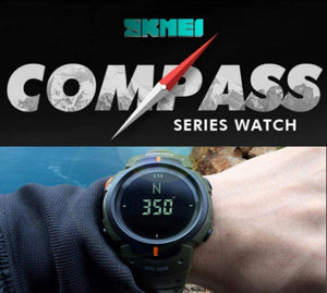 SKMEI COMPASS SERIES -1231-GRN - Mashroo