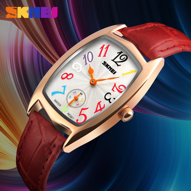 SKMEI LUXURY WATCH-1323 RGRED