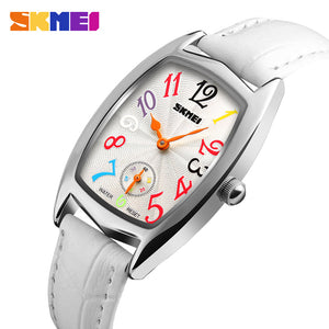 SKMEI LUXURY WATCH-1323 SLWHT - Mashroo