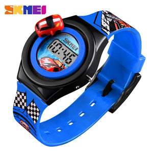 SKMEI KIDS WATCH-1376-BLU - Mashroo