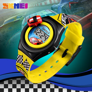 SKMEI KIDS WATCH-1376-YL - Mashroo