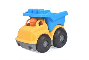 Eco Friendly Dumper 2 Bricks Vehicle - Mashroo