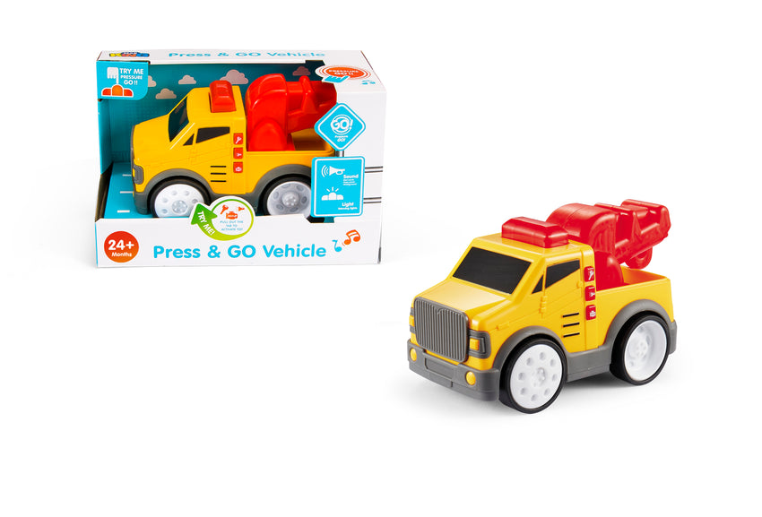 Touch & Go Construction Vehicle - A