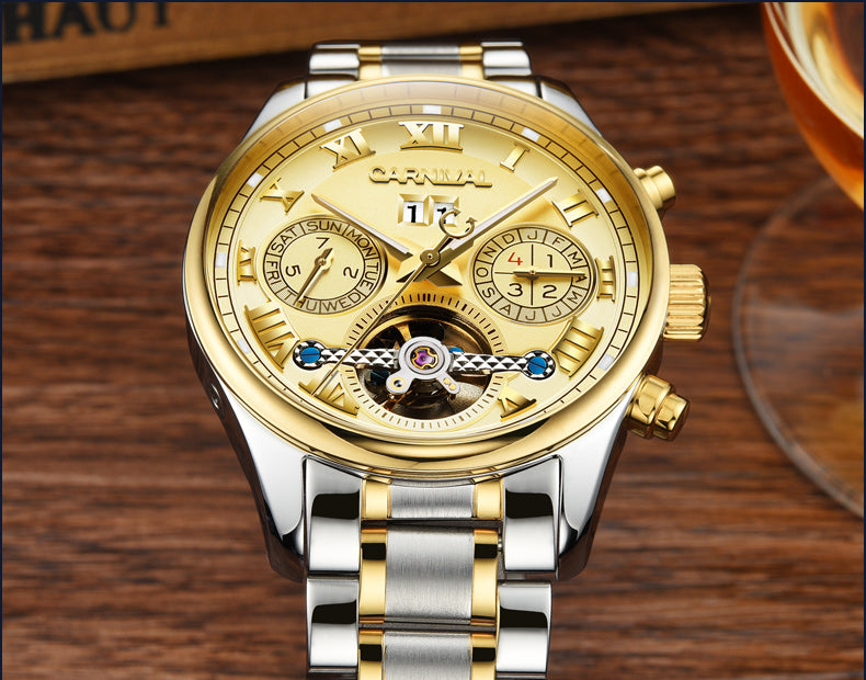 CARNIVAL Retro Roman Automatic Watch CR1003D