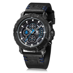T5 CHRONOGRAPH WATCH H3590-BLU - Mashroo